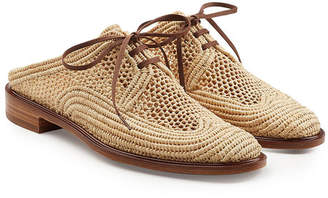 Robert Clergerie Woven Slip-On Loafers
