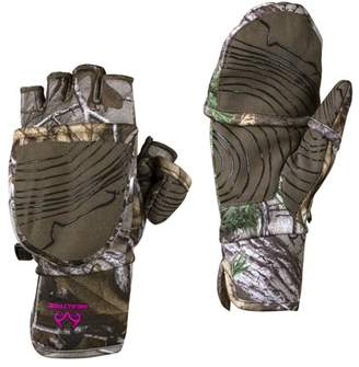Realtree Xtra Ladies Pop-Top Gloves