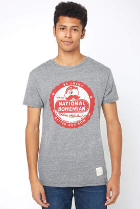 Original Retro Brand National Bohemian Be Lucky Graphic Tee