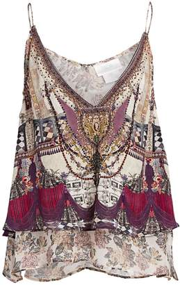 Camilla La Fleur Libertine Layered Beaded Camisole