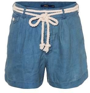Polo Ralph Lauren Chambray linen shorts