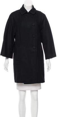 See by Chloe Virgin Wool Knee-Length Coat