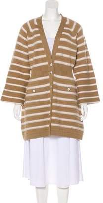 Chanel Cashmere Longline Cardigan