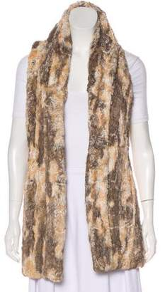 Alice + Olivia Long Faux Fur Vest w/ Tags