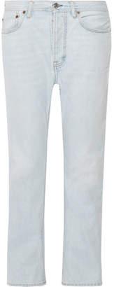 Acne Studios Log High-rise Straight-leg Jeans - Light denim