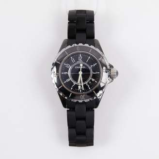 Chanel J12 Quartz Black Ceramic Watches