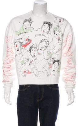 Enfants Riches Deprimes 2017 Sketch Print Sweatshirt w/ Tags