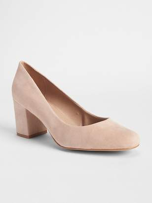 Gap Block Heels in Suede