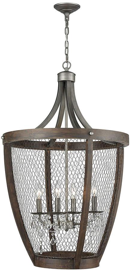 Renaissance Long-Basket Chandelier