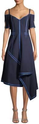 Jason Wu Women's Cold-Shoulder Drape Dress