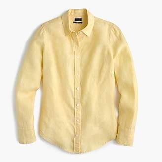 J.Crew Slim perfect shirt in cross-dyed Irish linen