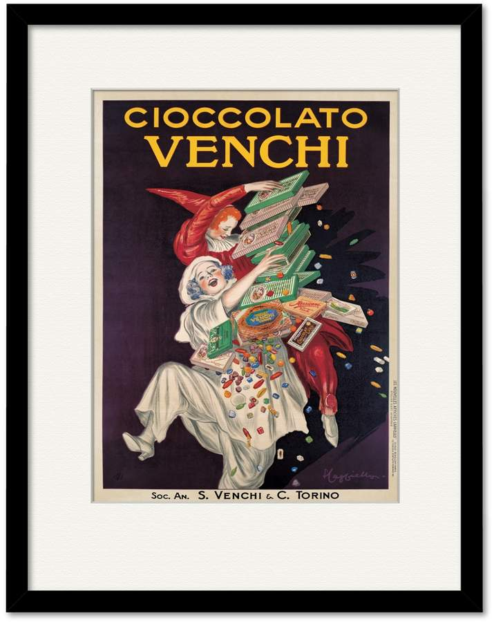 Courtside Market Cioccolato Venchi (Framed Print)