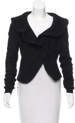 Givenchy Mohair Shawl Cardigan