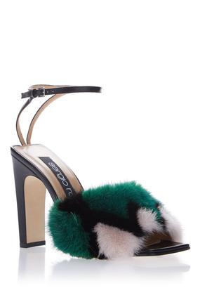 SR1 Fur Sandal