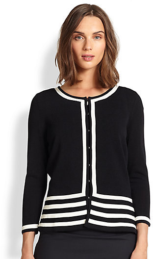 HUGO BOSS Bracelet-Sleeve Cardigan