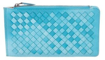 Bottega Veneta Bottega Veneta Ombré Intrecciato Leather Wallet