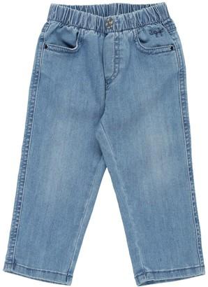 Il Gufo Denim pants - Item 42658819EE