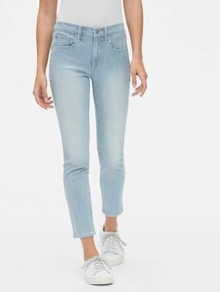 Gap Mid Rise True Skinny Ankle Jeans in Railroad Stripe