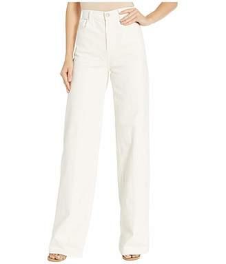 J Brand Elsa Hosk x Monday Jean in Workday White