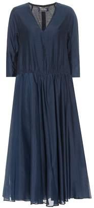 Max Mara S Simeone cotton and silk dress