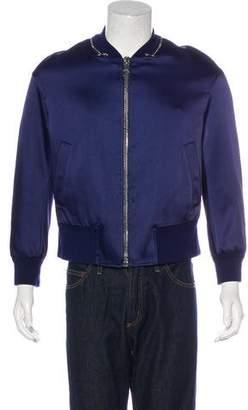 Neil Barrett Satin Bomber Jacket
