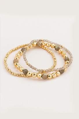Gorjana Labradorite Layering Bracelet