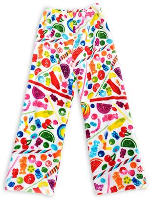 Dylan's Candy Bar Fuzzy Candy Spill Pants