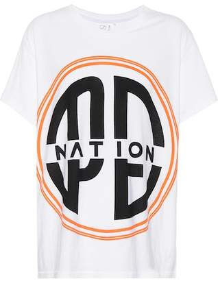 P.E Nation Acrobatics printed cotton T-shirt
