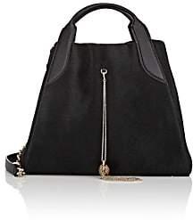 Lanvin Women's Trapeze Small Calf Hair Tote Bag-Black