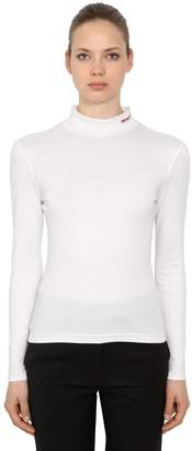 Calvin Klein Cotton Knit Turtleneck Sweater