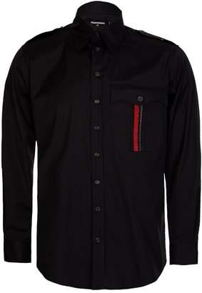 DSQUARED2 Dsquared Military Shirt Black