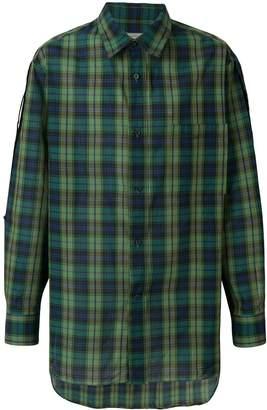 Lanvin casual checked shirt
