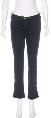 Etoile Isabel Marant Low-Rise Straight-Leg Jeans