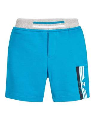 Armani Junior Cotton Jogging Shorts