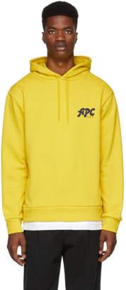 A.P.C. Yellow U.S. Keith Hoodie