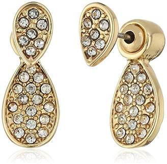 Laundry by Shelli Segal Pave Earrings Jacket