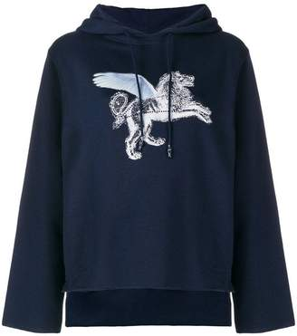 Golden Goose winged lion sweatshirt