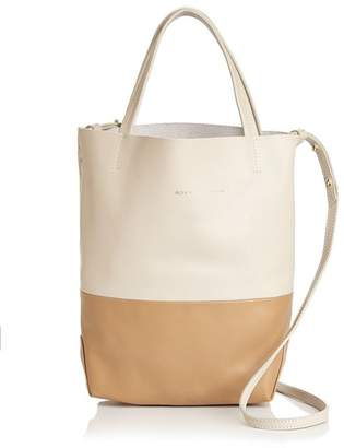 Alice.D Small Color-Block Leather Tote