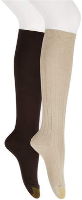 Gold Toe Women's 2-Pk. Ultra Soft Knee High Socks