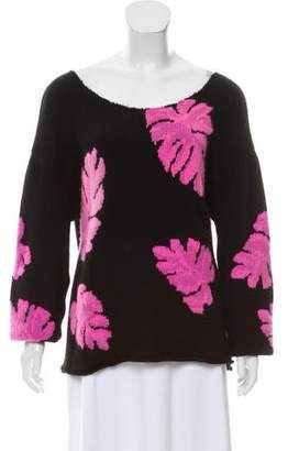 The Elder Statesman Cashmere Pattern Knit Sweater