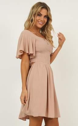 Showpo Only For Her Dress in mocha - 8 (S) Dresses