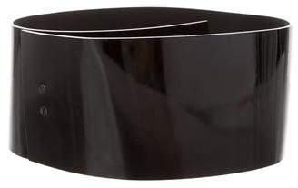 Philosophy di Alberta Ferretti Patent Leather Waist Belt