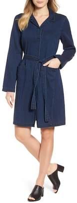 Eileen Fisher Denim Shirtdress