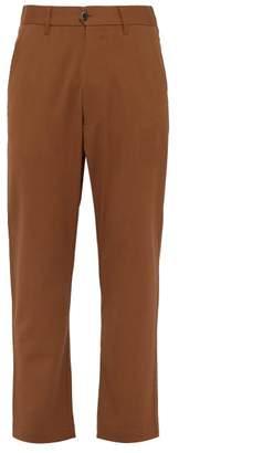 Barena Venezia - Salmaso Wool Blend Trousers - Mens - Brown