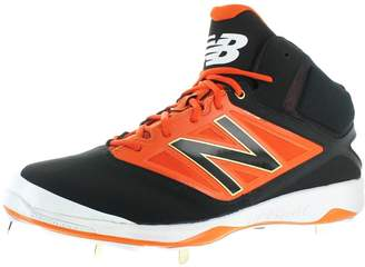 New Balance Mens Lace-up Athletic Cleats Black 12 Medium (D)