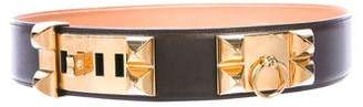 Hermes Box Collier de Chien Belt