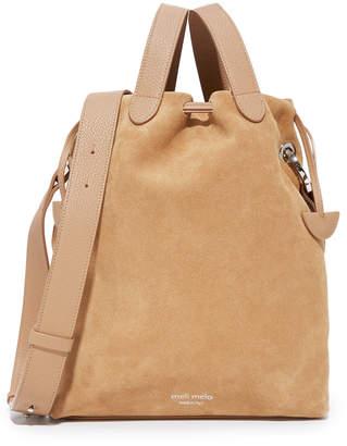 meli melo Hazel Drawstring Bag $400 thestylecure.com