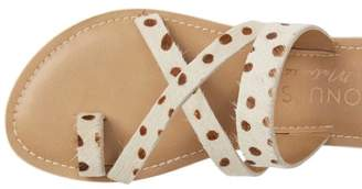 Coconuts by Matisse Cow Strapped Sandals