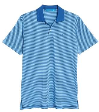 Southern Tide Regular Fit Stripe Stretch Polo