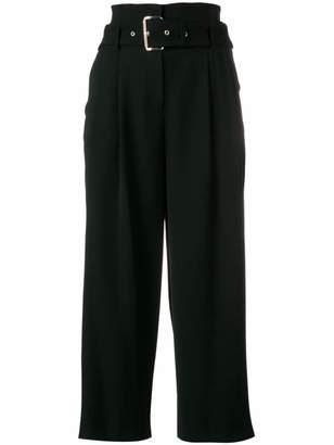 MICHAEL Michael Kors belted wide-leg trousers